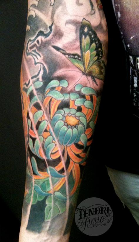 Floral / Arm